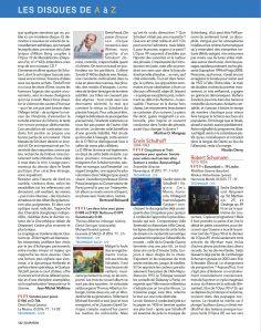 Denis Pascal, critique dans Diapason de mai 2017