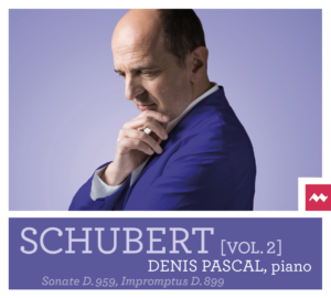 Disque Schubert vol.2 de Denis PASCAL