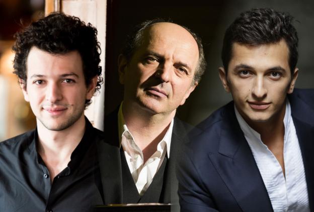 Alexandre, Aurélien et Denis PASCAL en concert à Gaveau