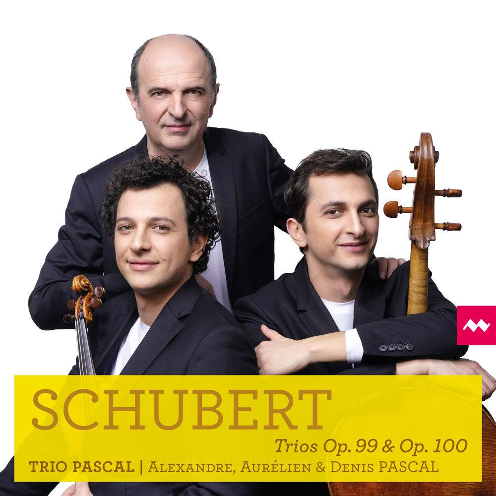 Pochette Disque La Musica 025 -Trio PASCAL -Shcubert Trios opus 99 et 100